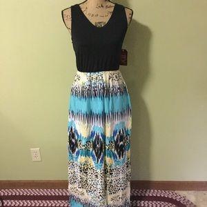 Faded Glory maxi dress medium NWT